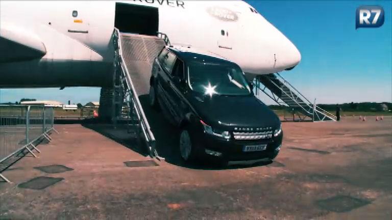 R7 coloca Range Rover de R$ 500 mil dentro de lago, avião e a ...