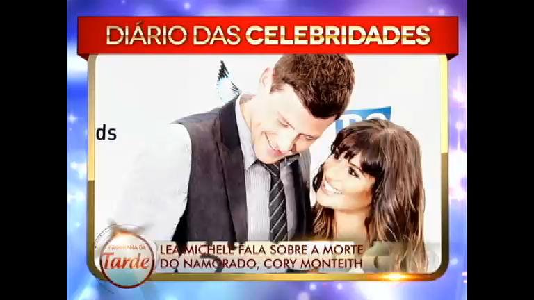 Lea Michele fala sobre morte do namorado, Cory Monteith ...