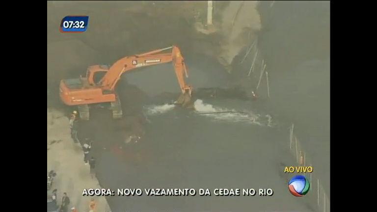 Obra da Transcarioca rompe adutora da Cedae - Rio de Janeiro ...