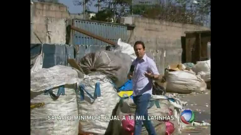 Catadores de materiais recicláveis recebem cada vez menos em BH ...