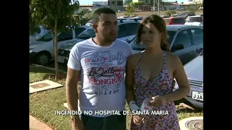 Incêndio no Hospital de Santa Maria - Distrito Federal - R7 DF Record