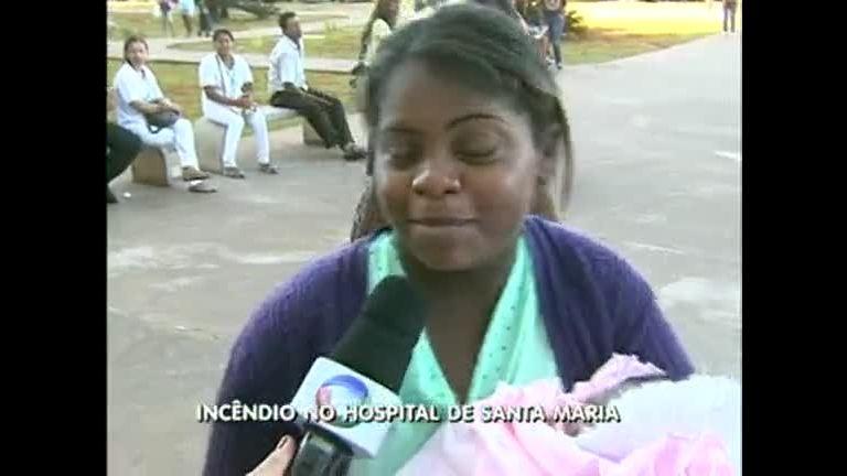 Incêndio no Hospital de Santa Maria - Distrito Federal - R7 DF no Ar