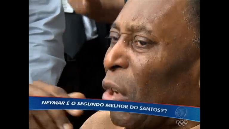 Declaração polêmica de Pelé abre debate sobre futebol de Neymar ...