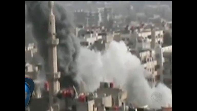 EUA estuda intervir em guerra civil da Síria - Notícias - R7 Jornal da ...