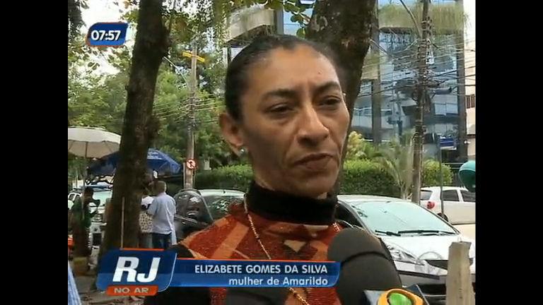 Mulher de Amarildo reconhece policiais na Divisão de Homicídios ...