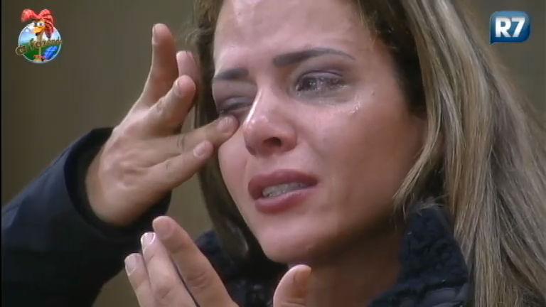 Chororô de Denise! Veja todas as vezes que a peoa já chorou ...