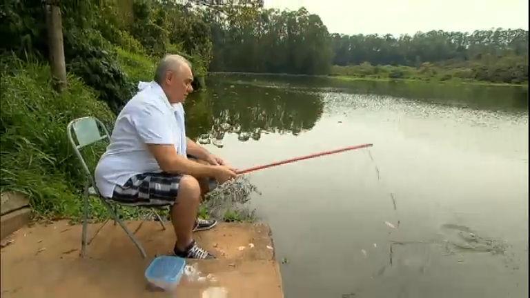 Percival faz Marcelo Rezende pescar com cabo de vassoura ...