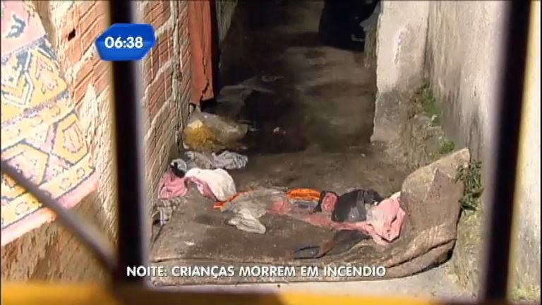 Crianças deixadas sozinhas em casa morrem em incêndio na zona ...