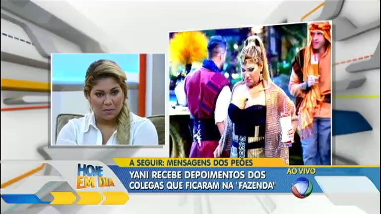 Mulher Filé revê trajetória na Fazenda e recebe depoimento dos ...