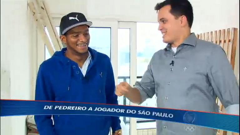 Craque do SPFC fala sobre sua difícil história de vida - Esportes ...