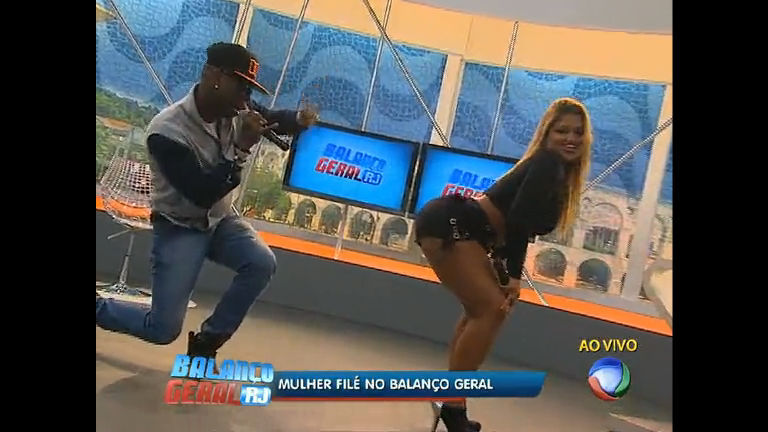 Mulher Filé agita a tarde no Balanço Geral RJ - Rio de Janeiro - R7 ...