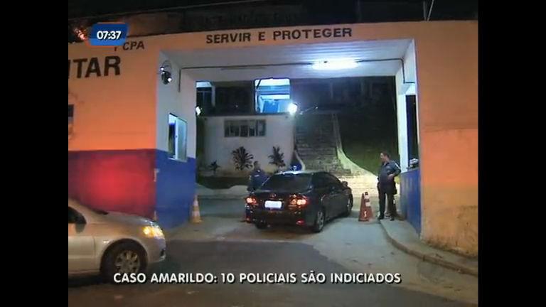 dez policiais são indiciados pela Divisão de Homicídios