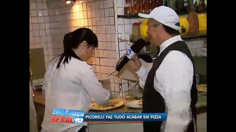 Luciana Picorelli coloca a mão na massa e aprende a fazer pizza no ...