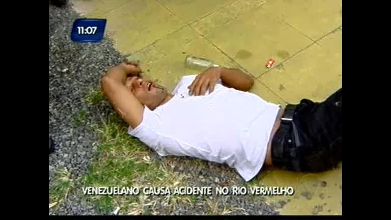 Venezuelano causa acidente no Rio Vermelho - Bahia - R7 Direto ...