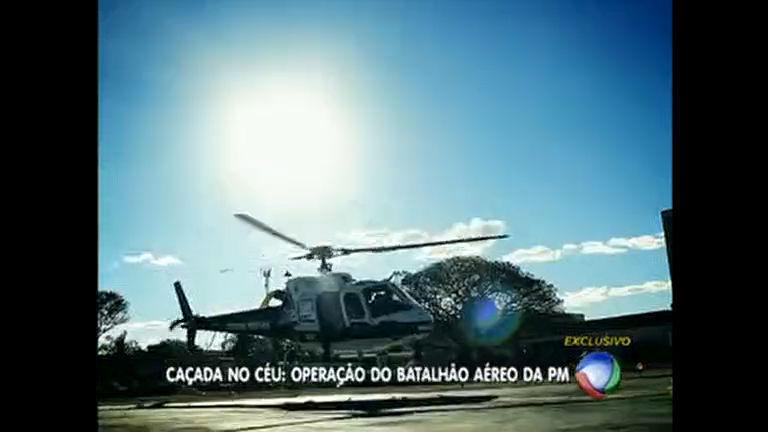 PM divulga imagens de operações aéreas no DF - Distrito Federal ...