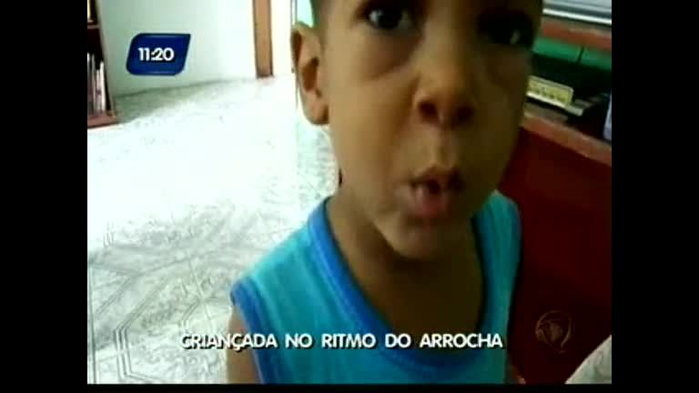 Crianças no ritmo do Arrocha - Bahia - R7 Direto da Redação BA