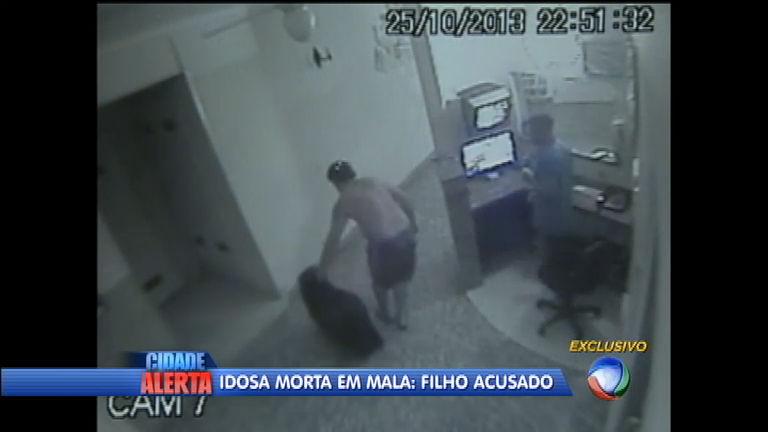 Corpo de idosa é encontrado dentro de mala em Santos (SP); filho é ...