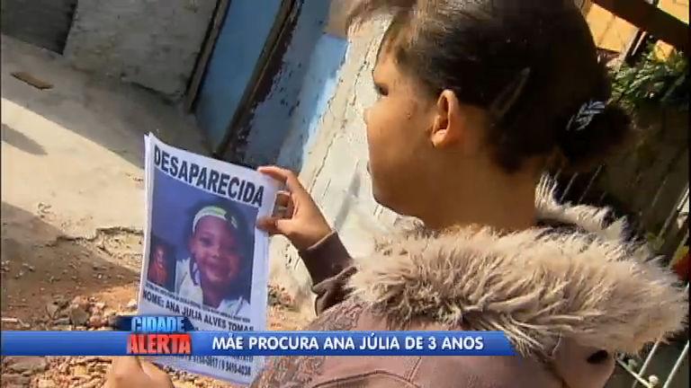 Menina de três anos desaparece em Carapicuíba (SP) - Notícias ...