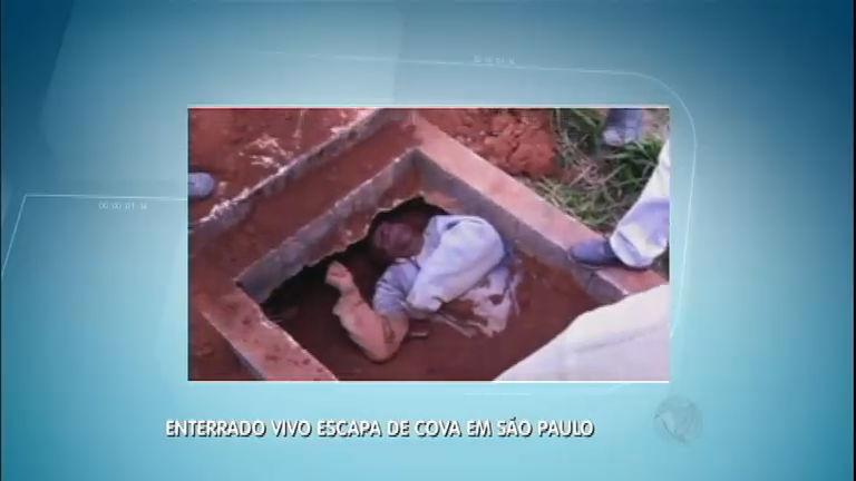 Após briga, homem é enterrado vivo em cemitério de Ferraz de ...