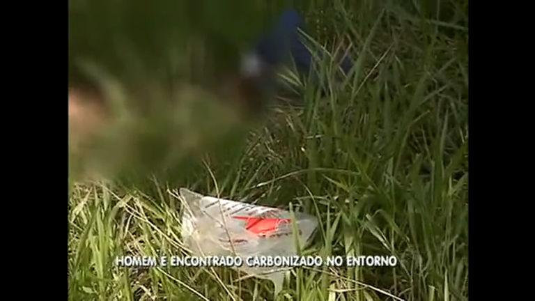 Corpo carbonizado é encontrado em Águas Lindas de Goiás - Rede ...