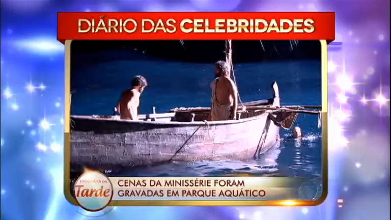 Diário das Celebridades revela bastidores de nova minissérie da ...