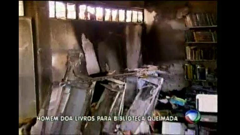 Escola arrombada, depredada e incendiada em Contagem recebe ...