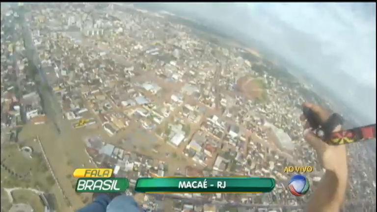 Chuvas em Macaé (RJ) deixam 193 desabrigados - Notícias - R7 ...