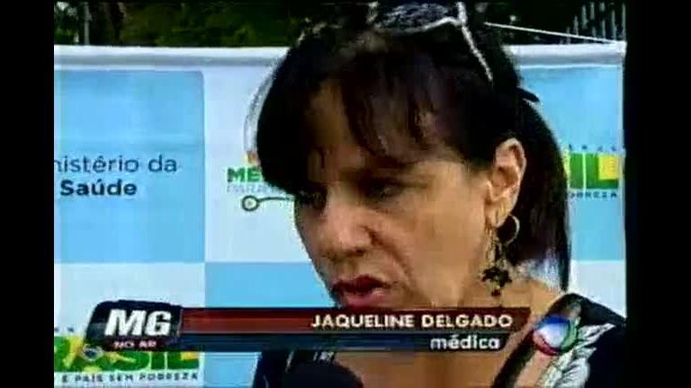 Mais médicos cubanos chegam em BH - Minas Gerais - R7 MG no Ar