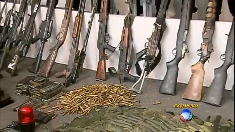 Reportagem especial mostra como funciona o tráfico de armas no ...