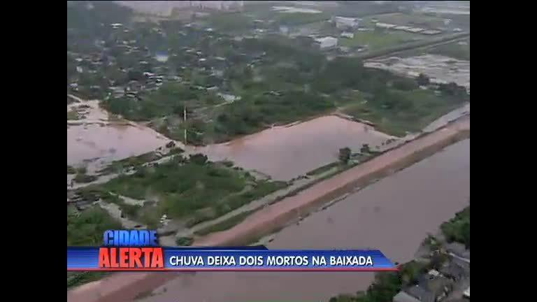 Chuva deixa mortos na baixada (RJ) - Rio de Janeiro - R7 Cidade ...