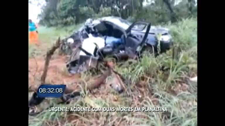 Urgente: acidente com duas mortes em Planaltina - Distrito Federal ...