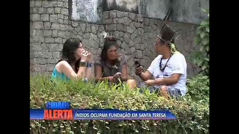 Índios ocupam fundação em Santa Teresa ( RJ) - Rio de Janeiro ...