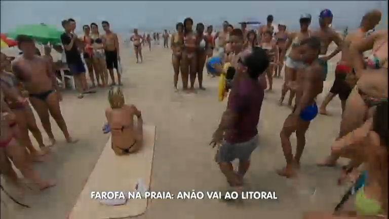 Anão faz farofa e apronta todas no litoral de SP - Notícias - R7 ...