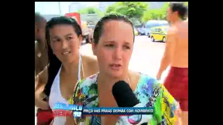 Turistas e cariocas reclamam de preços abusivos nas praias do Rio ...