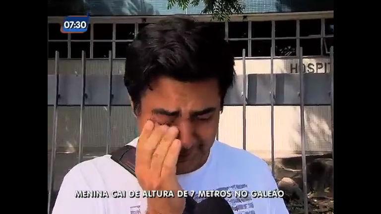 Menina argentina cai de altura de sete metros no aeroporto do ...