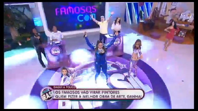 Gaby Amarantos faz o Melhor do Brasil tremer com Xirley - Record ...