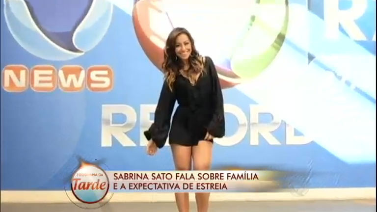 Diário das Celebridades: Sabrina fala da estreia na Record; veja na ...