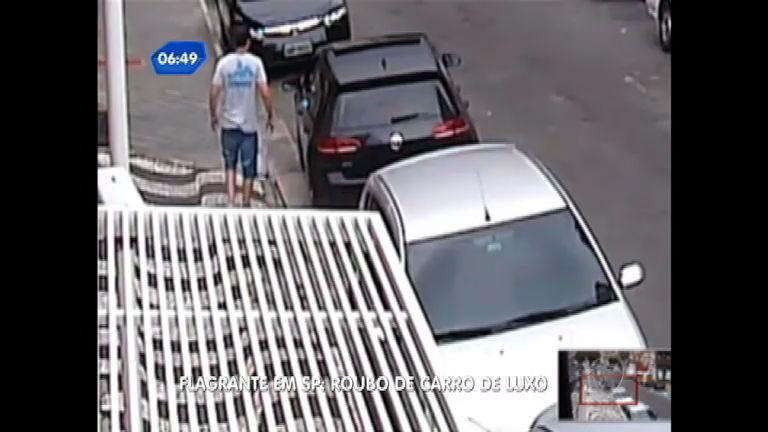 Ladrões roubam carro de luxo em São Caetano do Sul (SP ...