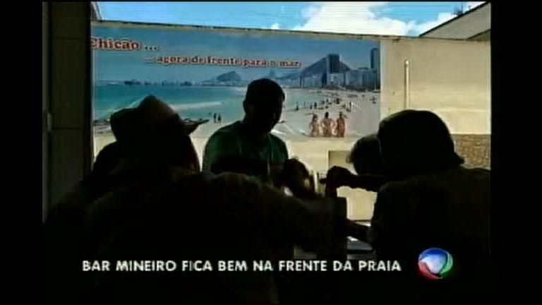 """Mineiros dão """" jeitinho"""" de montar bar de frente pro mar - Minas ..."""