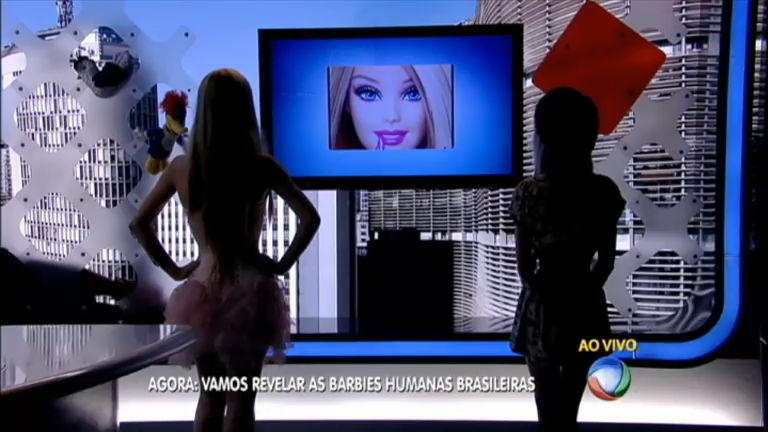 Balanço Geral revela identidade das Barbies humanas brasileiras ...