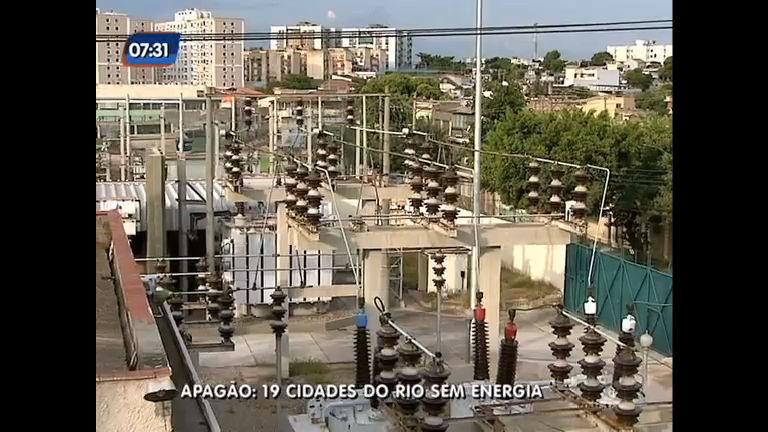 Apagão deixa 19 cidades do Rio de Janeiro sem energia elétrica ...