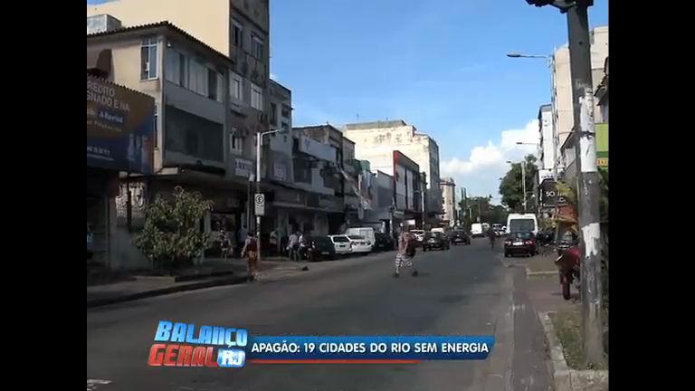 Apagão: 19 cidades do Rio ficam sem energia - Rio de Janeiro - R7 ...