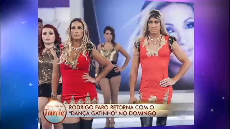 Rodrigo Faro dança Beijinho no Ombro na volta do Dança Gatinho ...