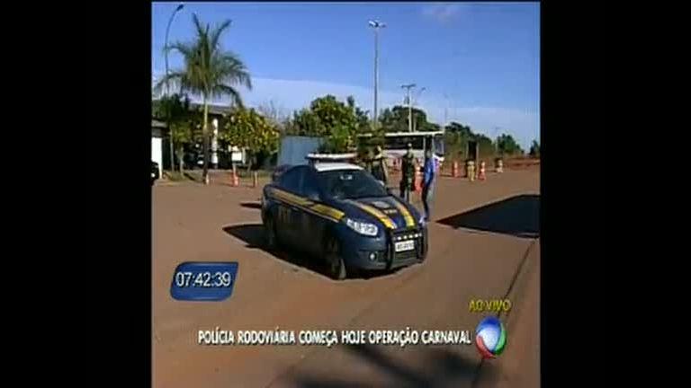 PRF começa a Operação Carnaval - Distrito Federal - R7 DF no Ar