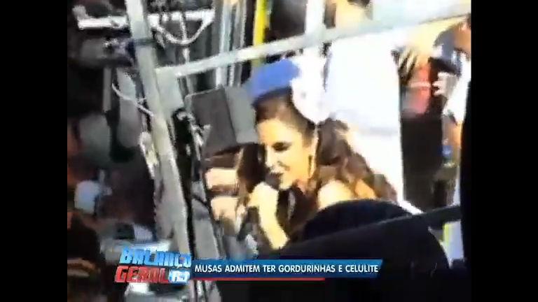 Musas admitem ter gordurinhas e celulites neste carnaval - Rio de ...