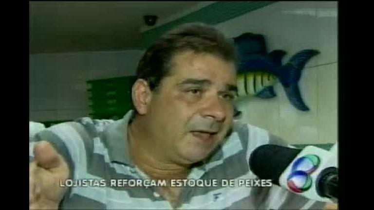 Lojistas reforçam estoque de peixes para a Quaresma - Minas ...