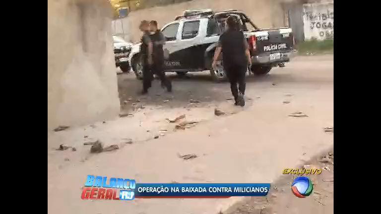 Polícia realiza operação contra milicianos na Baixada Fluminense ...