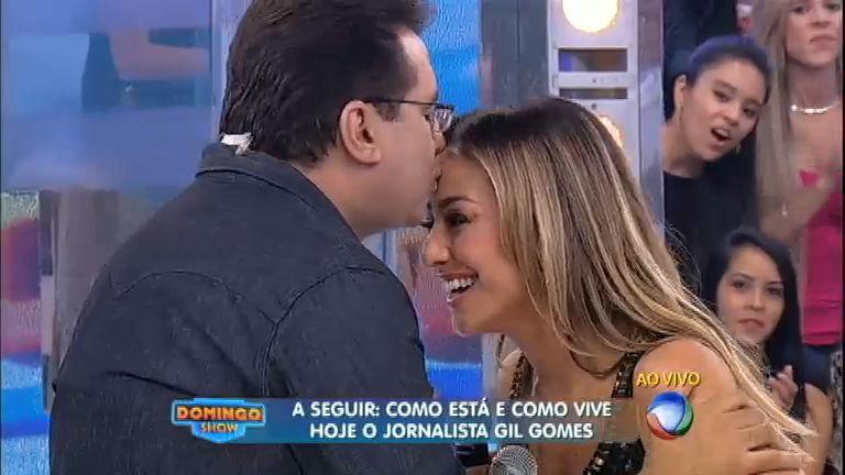 Boas-vindas: Geraldo Luís beija famosa verruga de Sabrina Sato ...