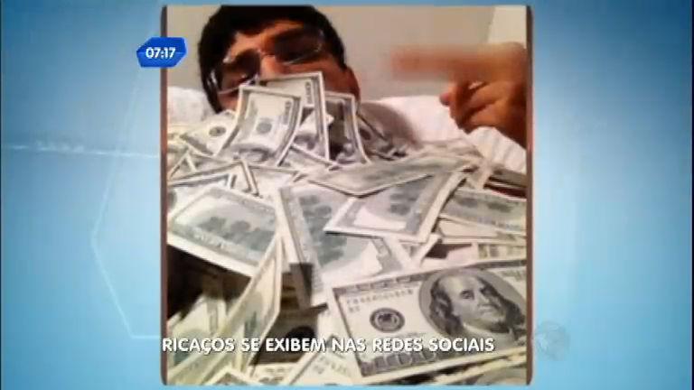 Balanço Geral mostra os ricaços que se exibem nas redes sociais
