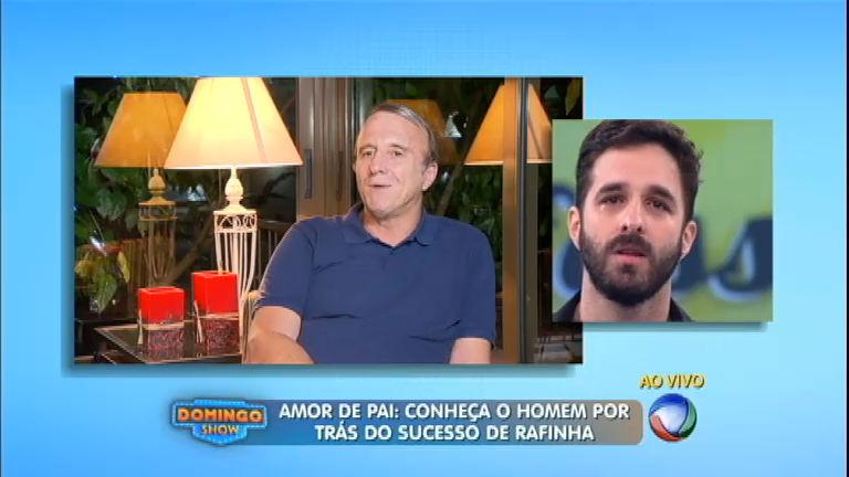 Rafinha Bastos chora ao falar sobre a relação com o pai ...